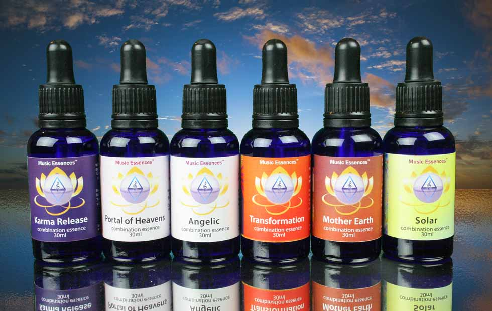 Practitioner's Set of 6 Combination Essences